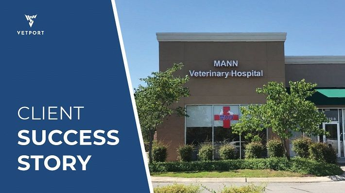 Mann Veterinary Hospital is growing every day with VETport