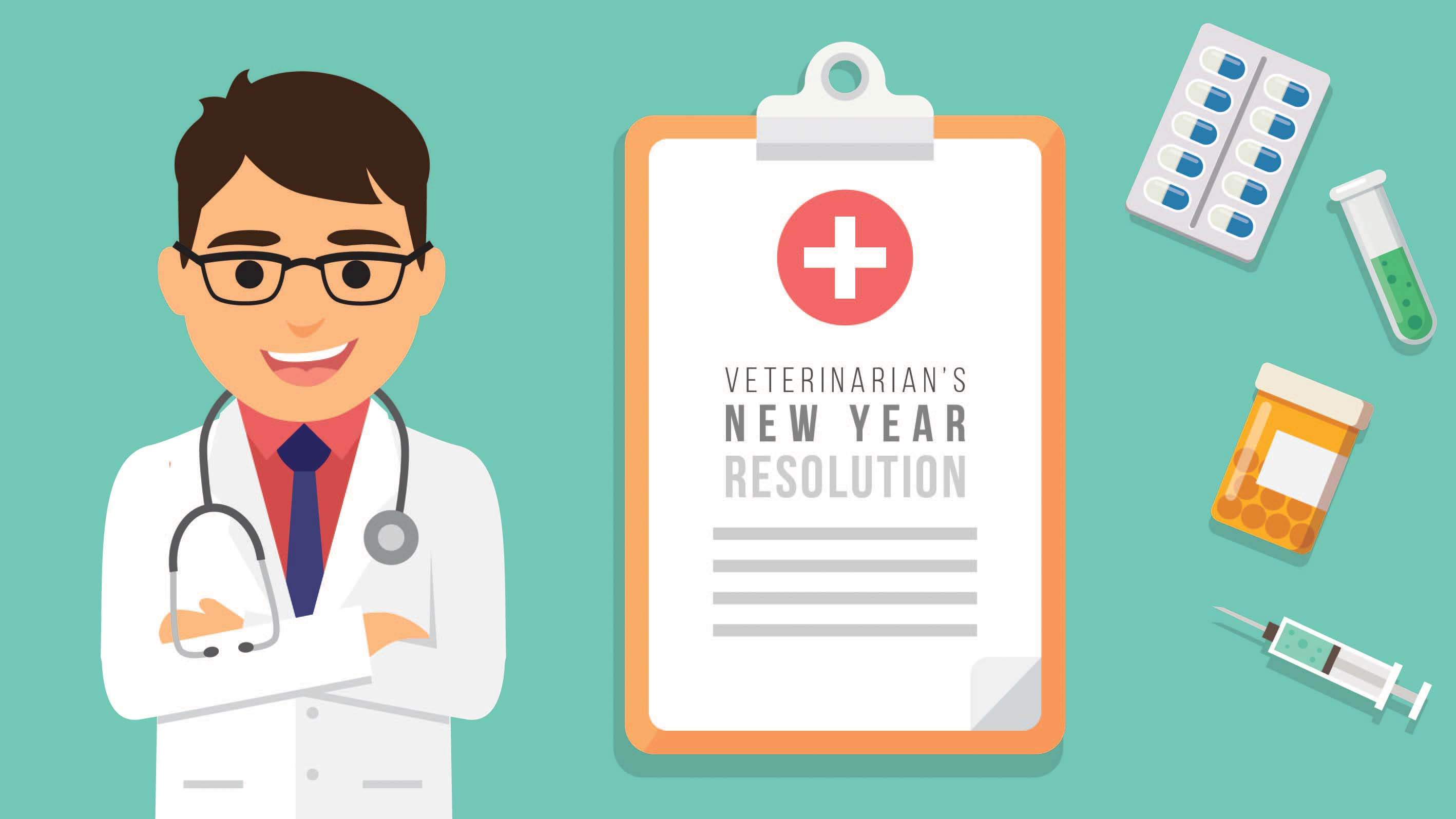 Veterinarians' New Year resolutions - Baby Steps towards better Veterinary Practice Management